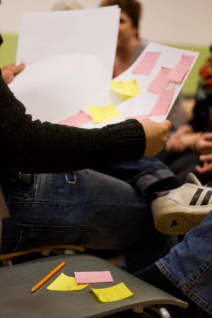 Foto från en av SIPs workshops