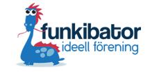Logotyp Funkibator ideell förening