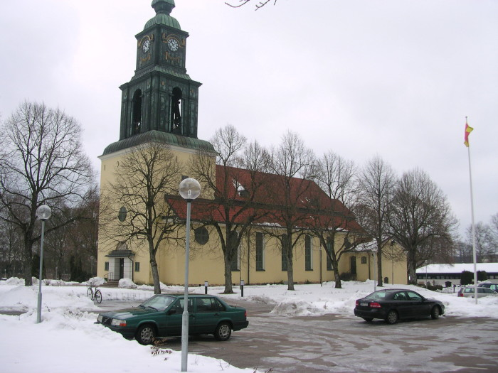 """The Church in Älmhult, Sweden"". Con licenza CC BY-SA 3.0 tramite Wikimedia Commons - https://commons.wikimedia.org/wiki/File:The_Church_in_%C3%84lmhult,_Sweden.JPG#/media/File:The_Church_in_%C3%84lmhult,_Sweden.JPG"