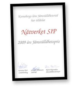 Jämställdhetspris 2009