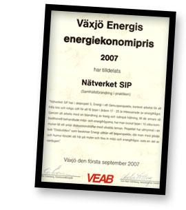Växjö Energis Energiekonomipris